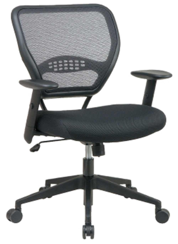 Mid back black executive mesh chair design