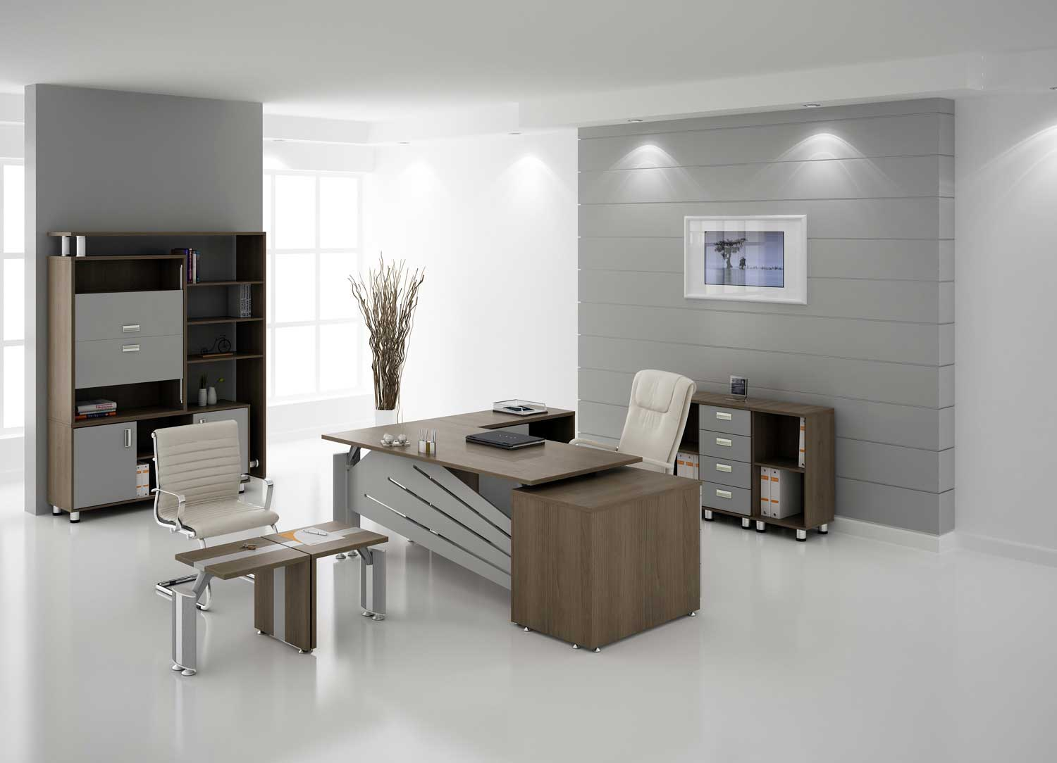 Modern Indiana office furniture