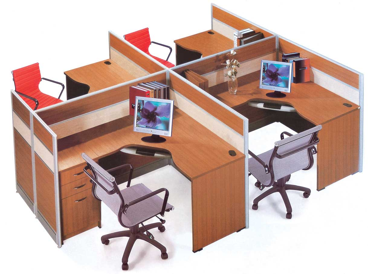 Modern Modular Office Partitions and Workstations