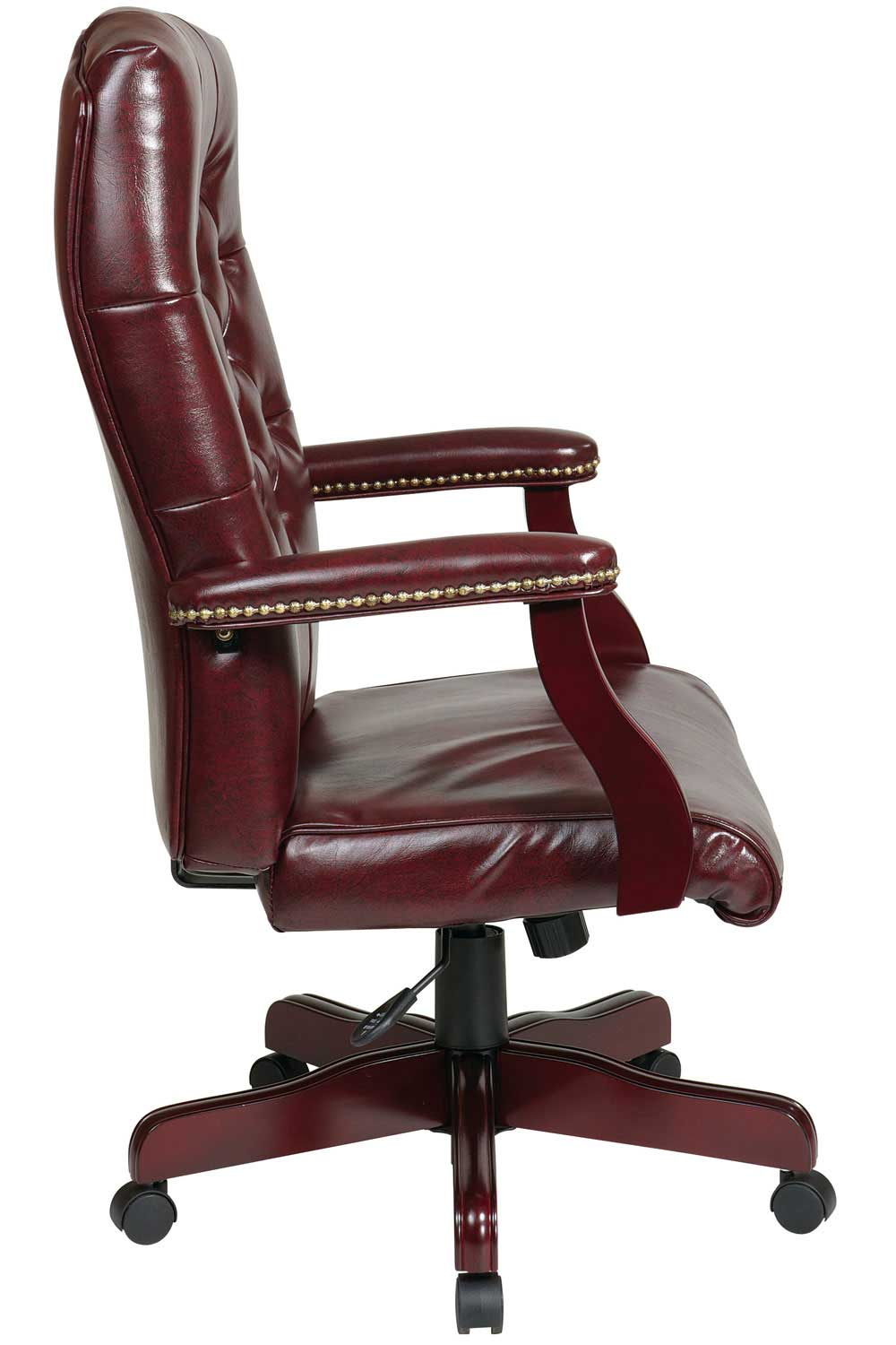 Office Star Traditional Office Chair with Executive Jamestown Vinyl