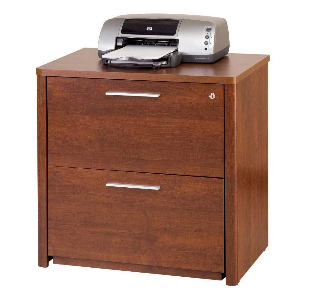 office wood lateral file cabinet with 2 drawer