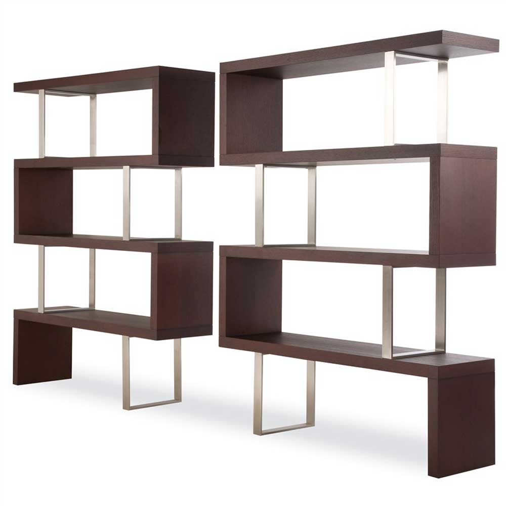 Room divider bookshelf office furniture - Bookshelves as room divider ...