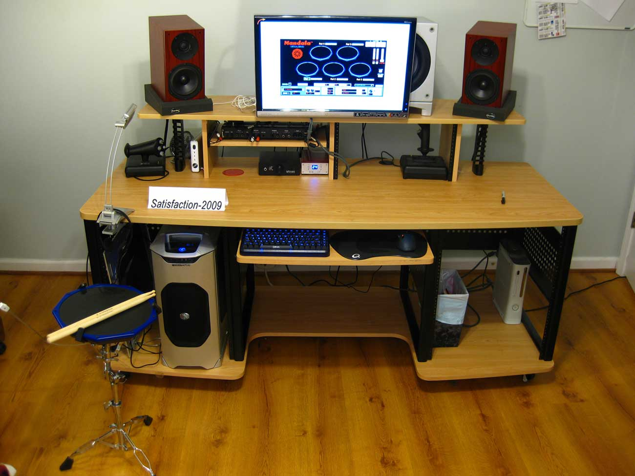 RTA Studio Producer Stations with Ergotron LX Table