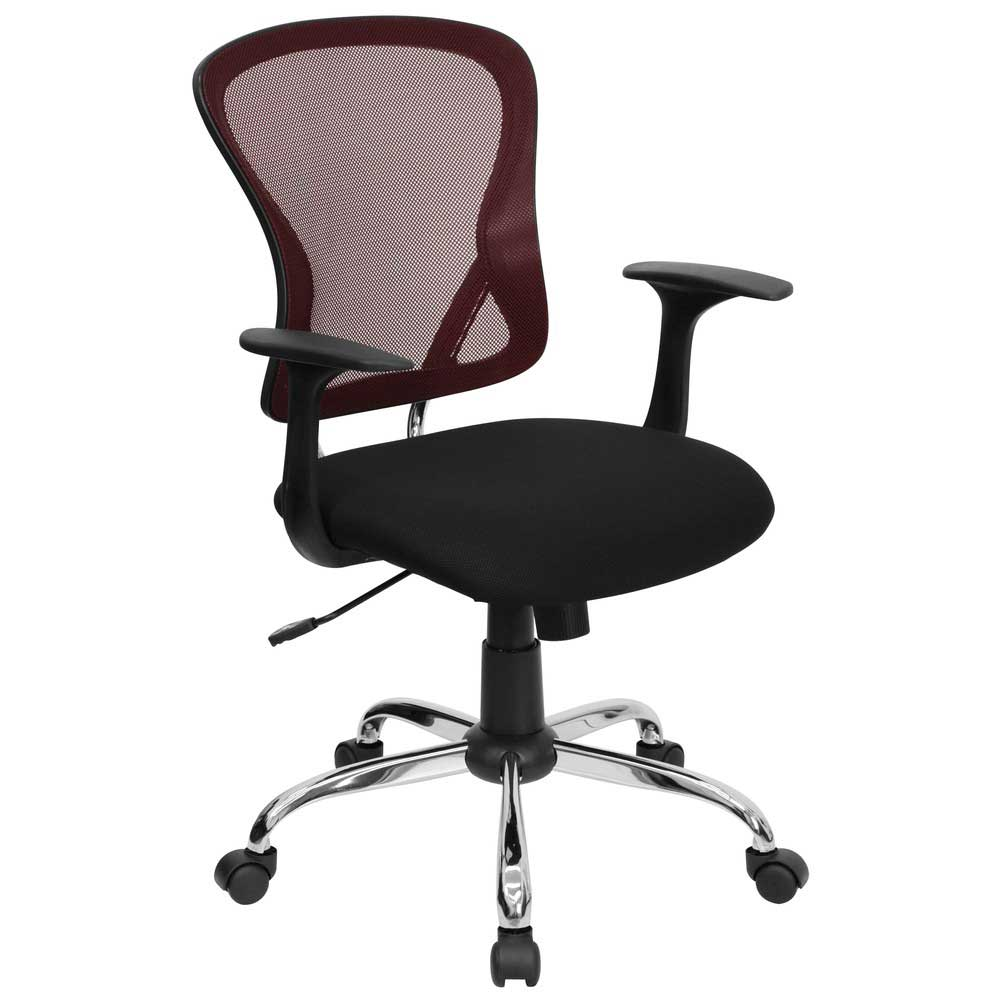 Mesh Computer Chairs for Home Office Interior : Red Mesh Computer Chairs for Executive Office from office-turn.com size 1000 x 1000 jpeg 51kB