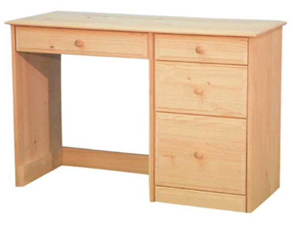 Unfinished furniture desk for any home office for Unfinished wood furniture