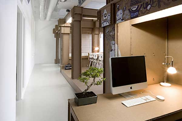 TransAmerican office furniture cardboard