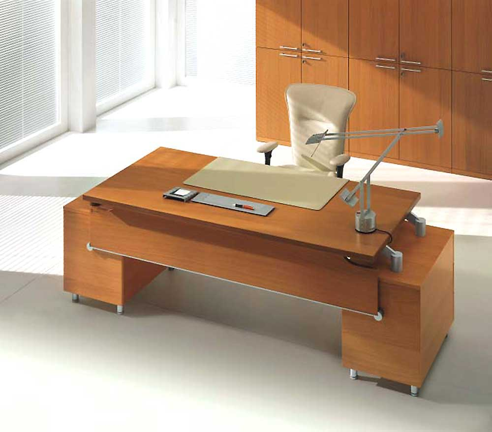 Comexecutive Office Table Design : Uffix Modern Italian Designer Wood Executive Desk
