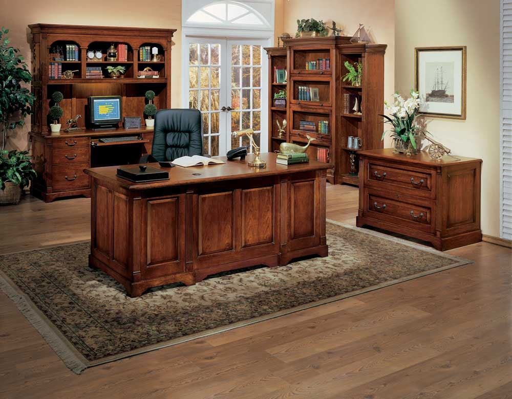 Country office furniture collection - Home office desk furniture sets ...
