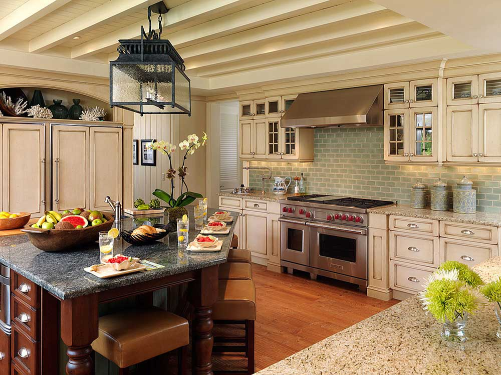 Winter park Orlando transitional kitchen design