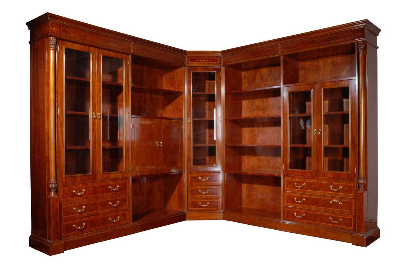 classic bookcase and storage for home office