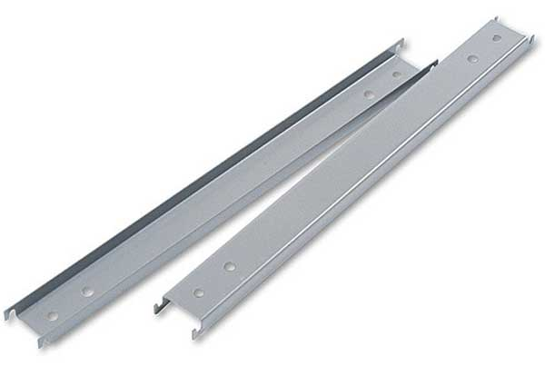 double cross HON lateral file cabinet rails