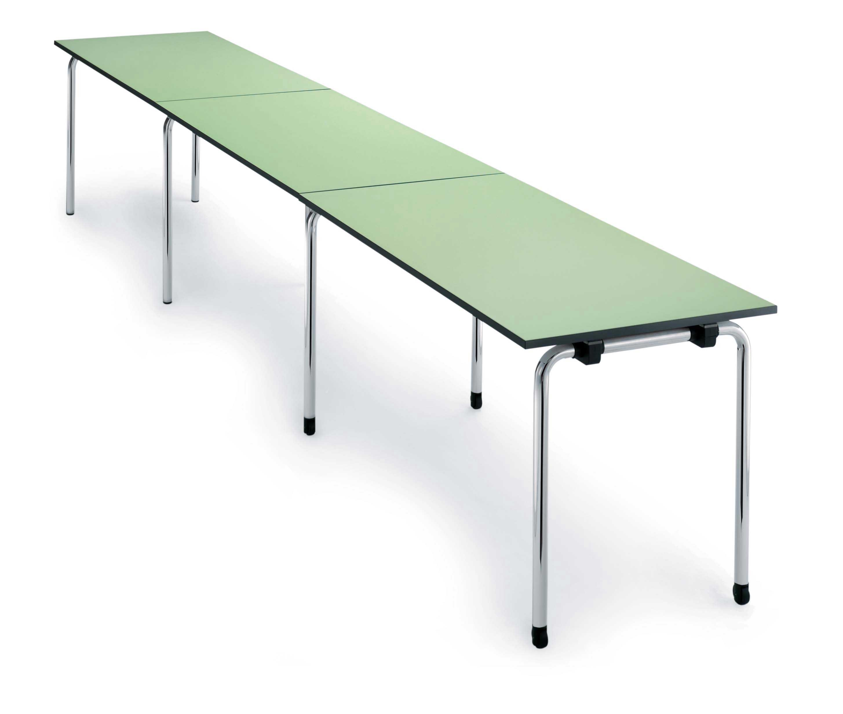 elegant and slim modern folding table design