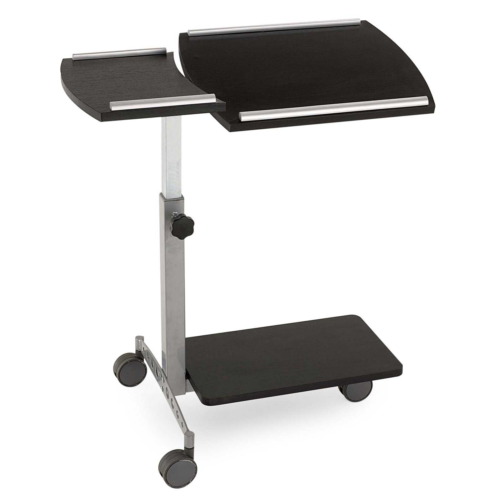 euro styles home office laptop rolling stand