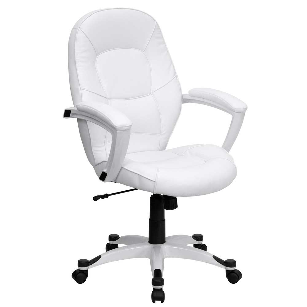 White Office Chair Design and Style