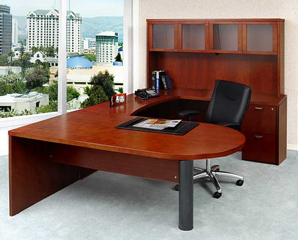 modular work desk design for executive