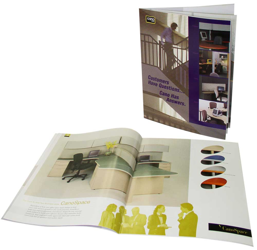 office furniture catalogs as online brochure