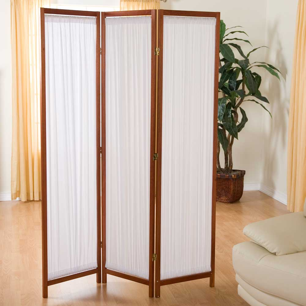 plain 3 panels wall divider ideas