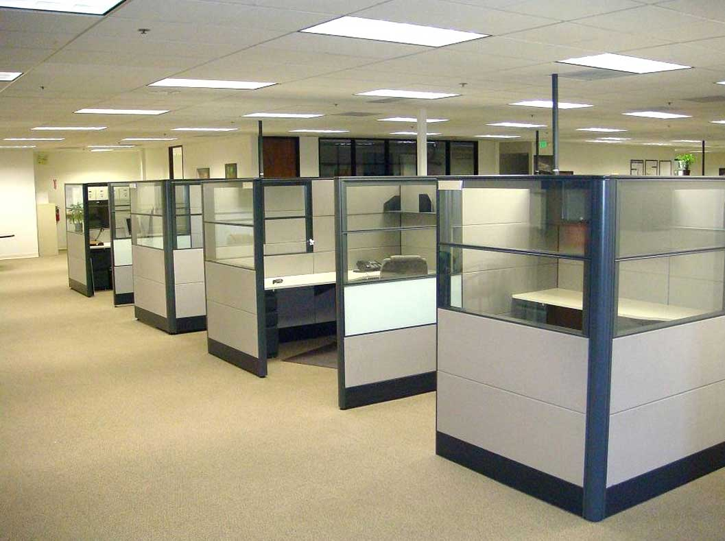 Used cubicles office furniture Office cubicle design ideas