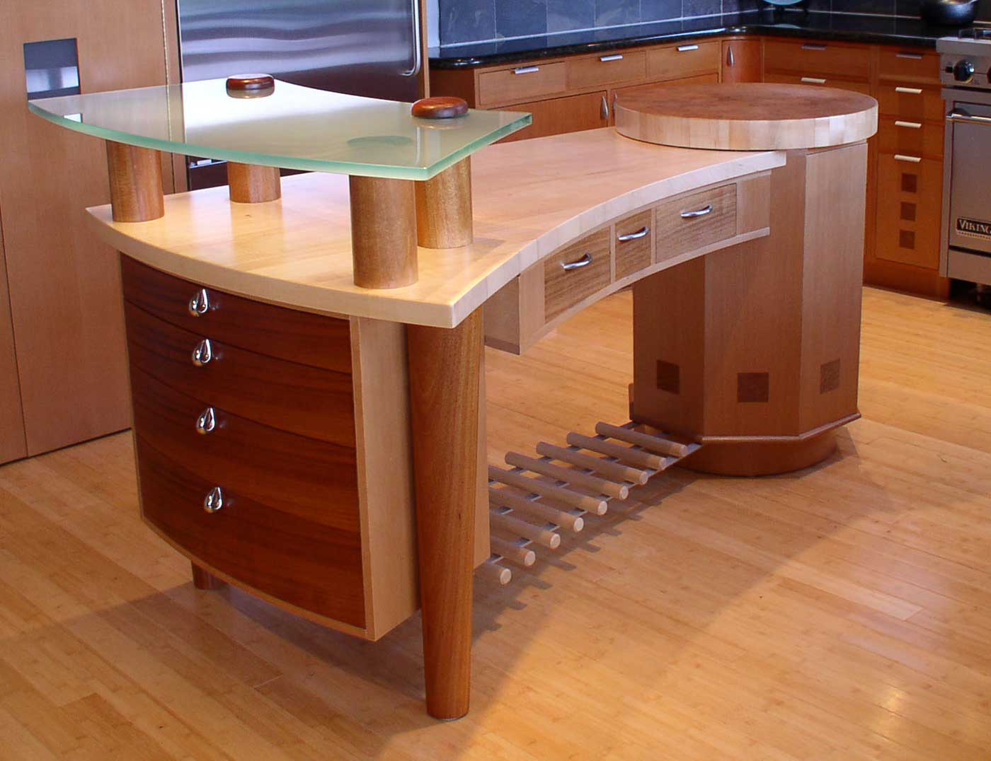 Office furniture boulder ideas Creative wooden furniture