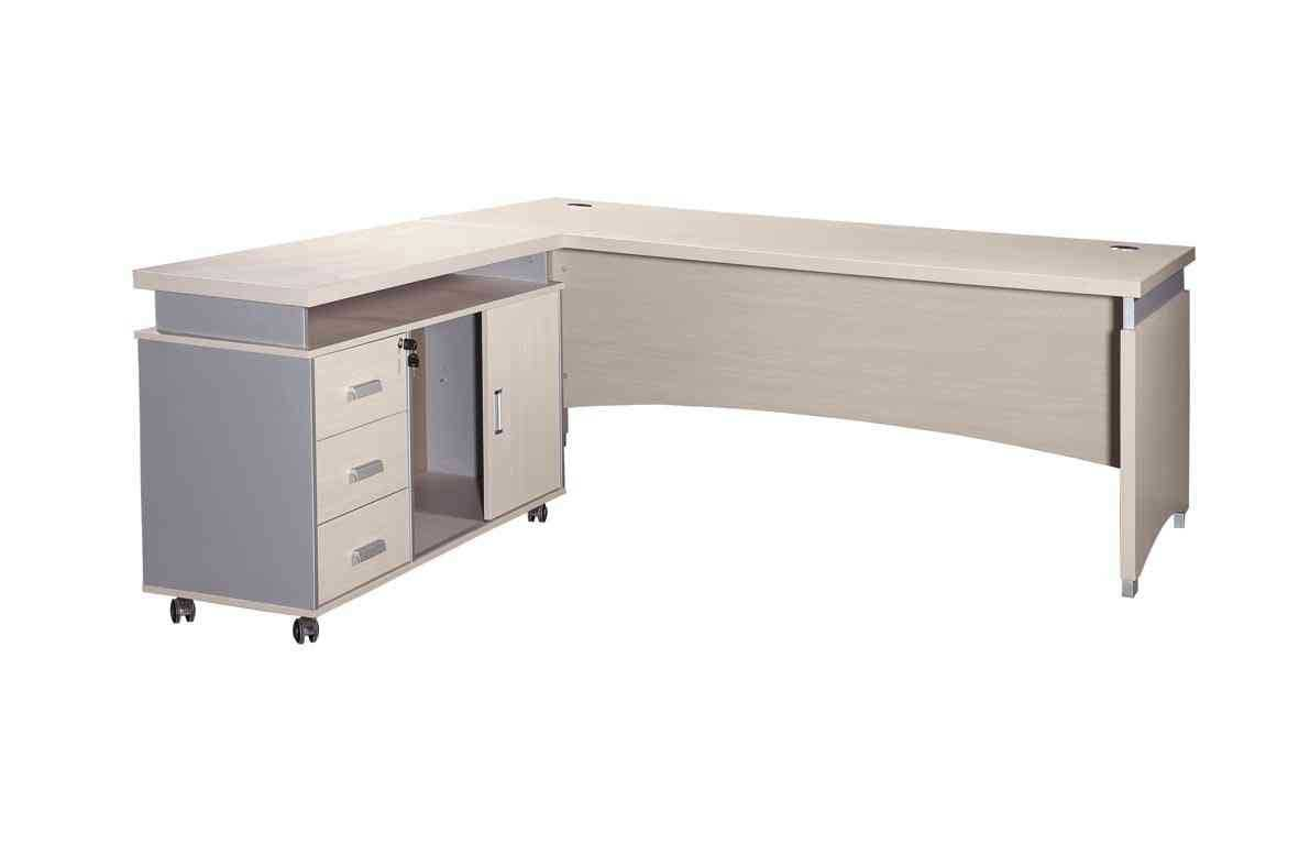 white finish executive desks for home office
