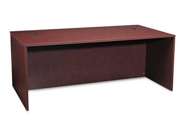 Basyx Laminate Wood Rectangular Office Desk Shell