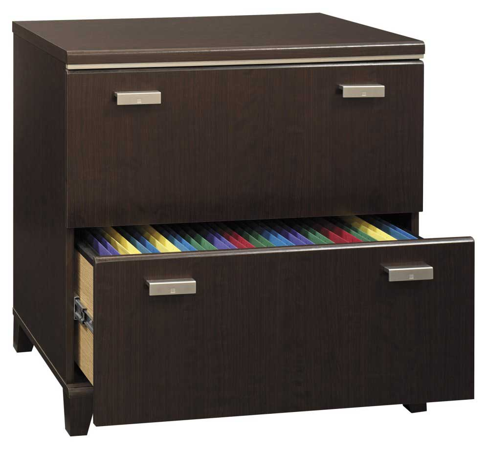 Excellent Round Out Your Volcano Dusk Office Suite With The Volcano Dusk 34&quot Lateral File From Kathy Ireland Office By Bush Furniture The File Cabinet Offers Two File Drawers, Plus Style Touches Like Louvered Accents And Decorative Bun Feet