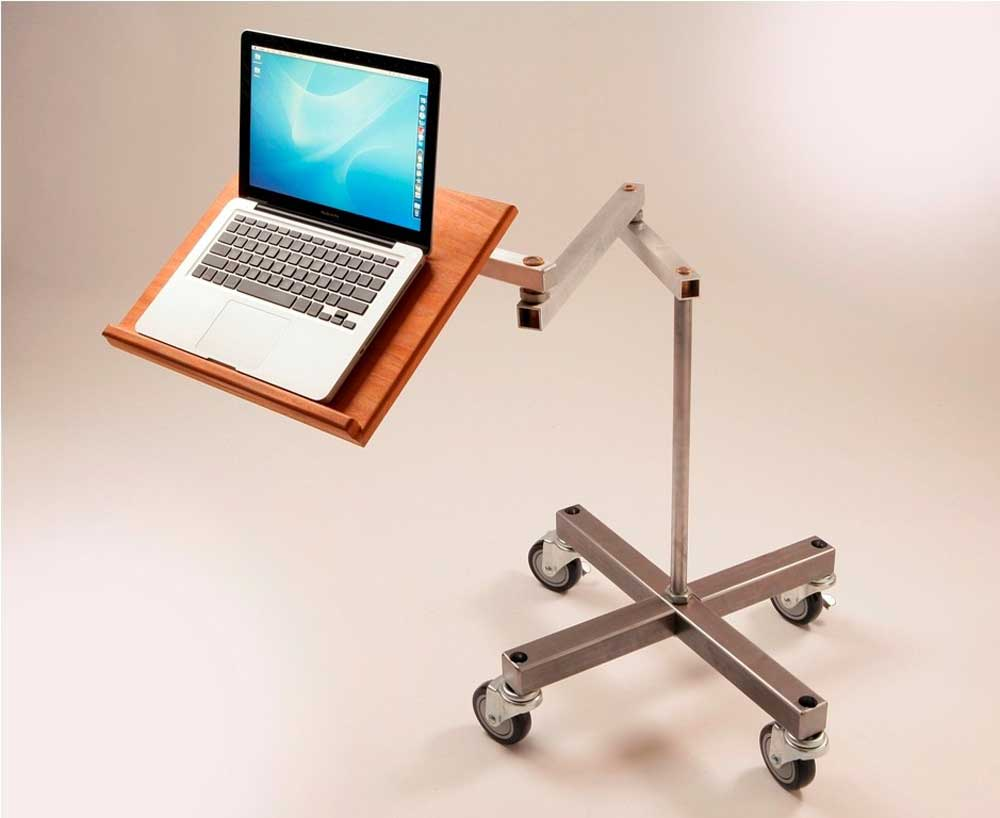 Standing Laptop Desk As Home Office Decor