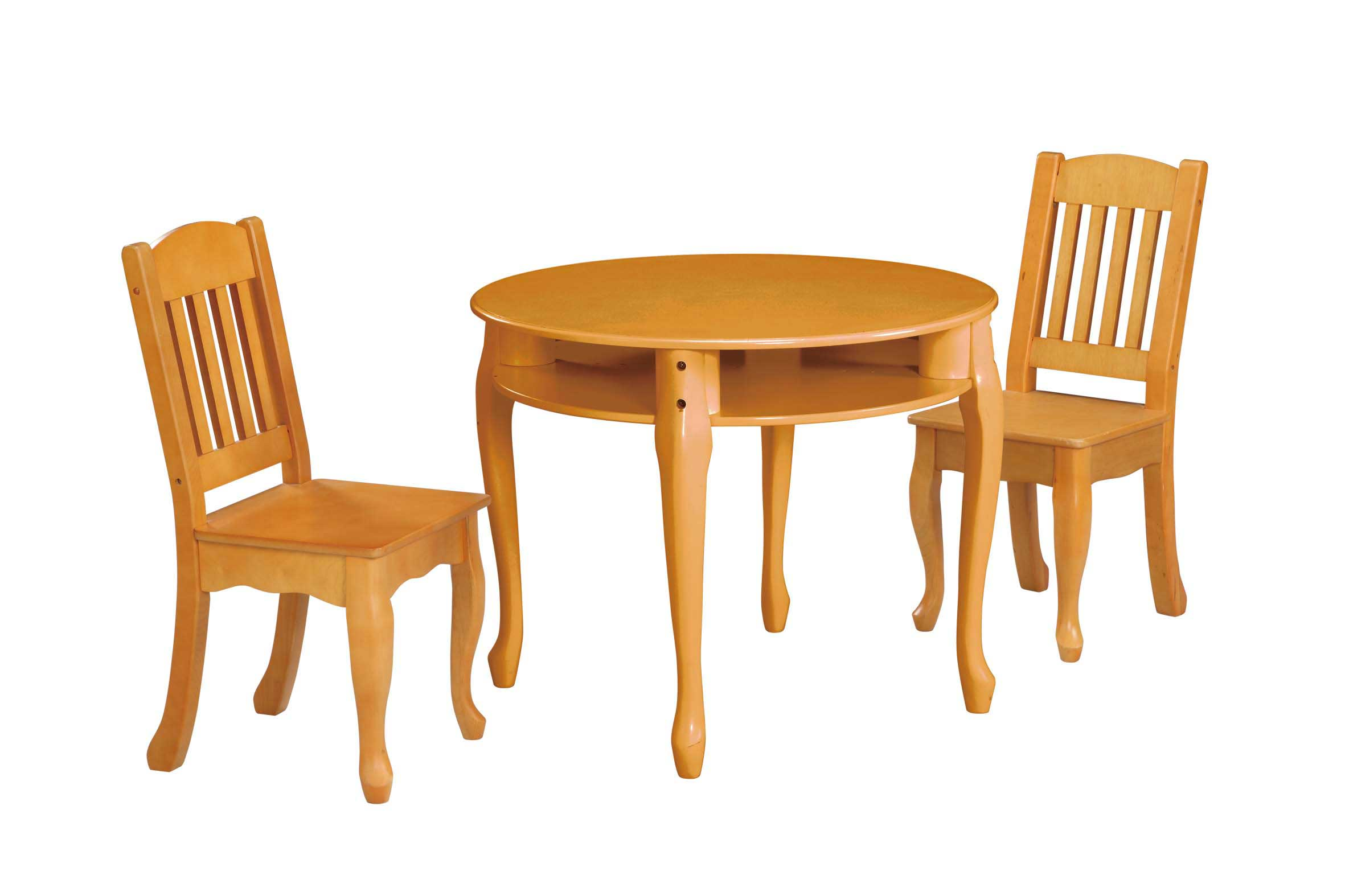 Children Windsor Furnishing in Honey Finish