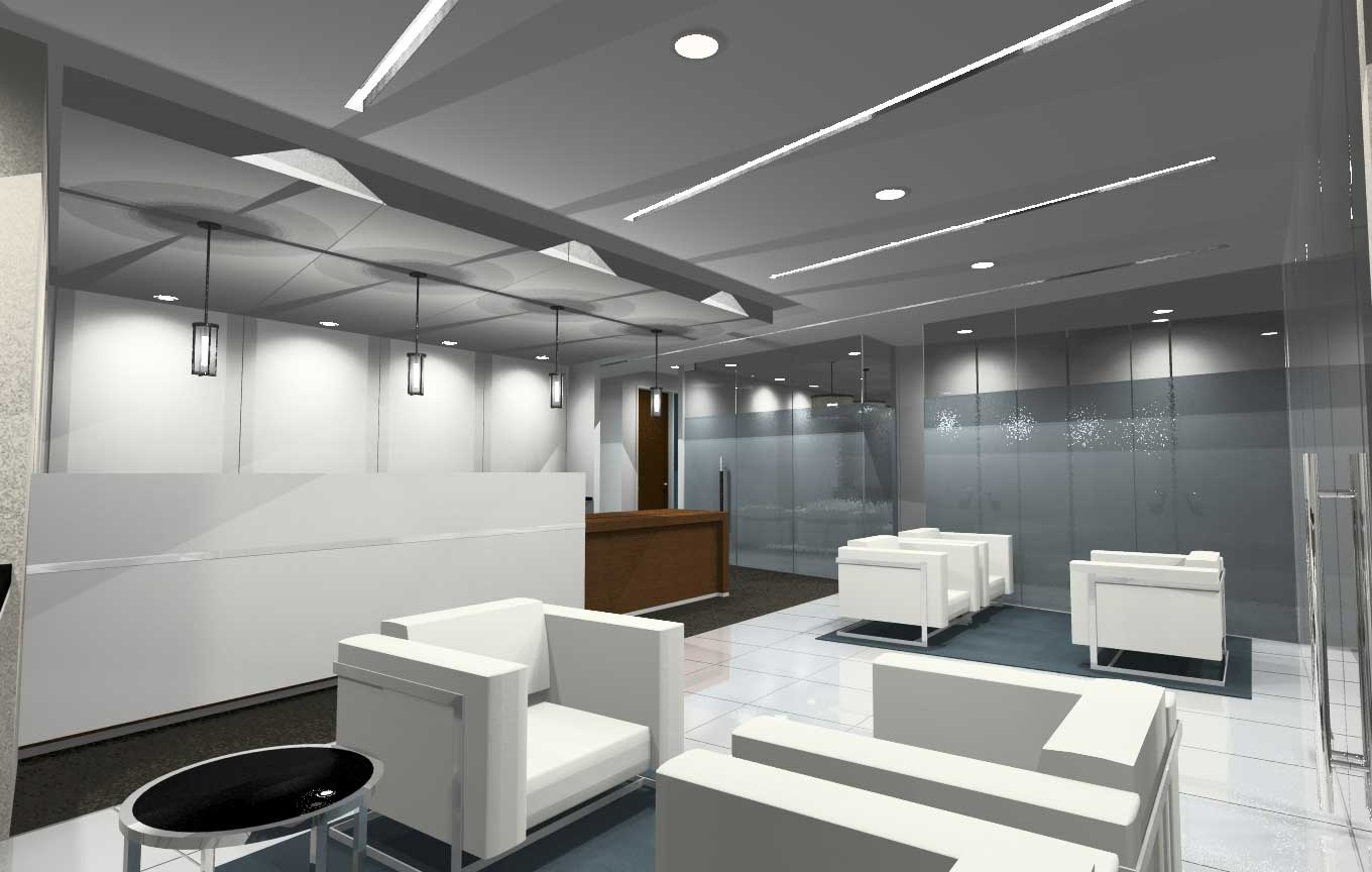 contemporary los angeles executive office space design
