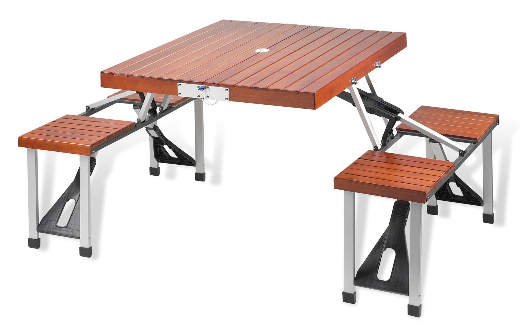 Doyle Marine Wooden Picnic Folding Table
