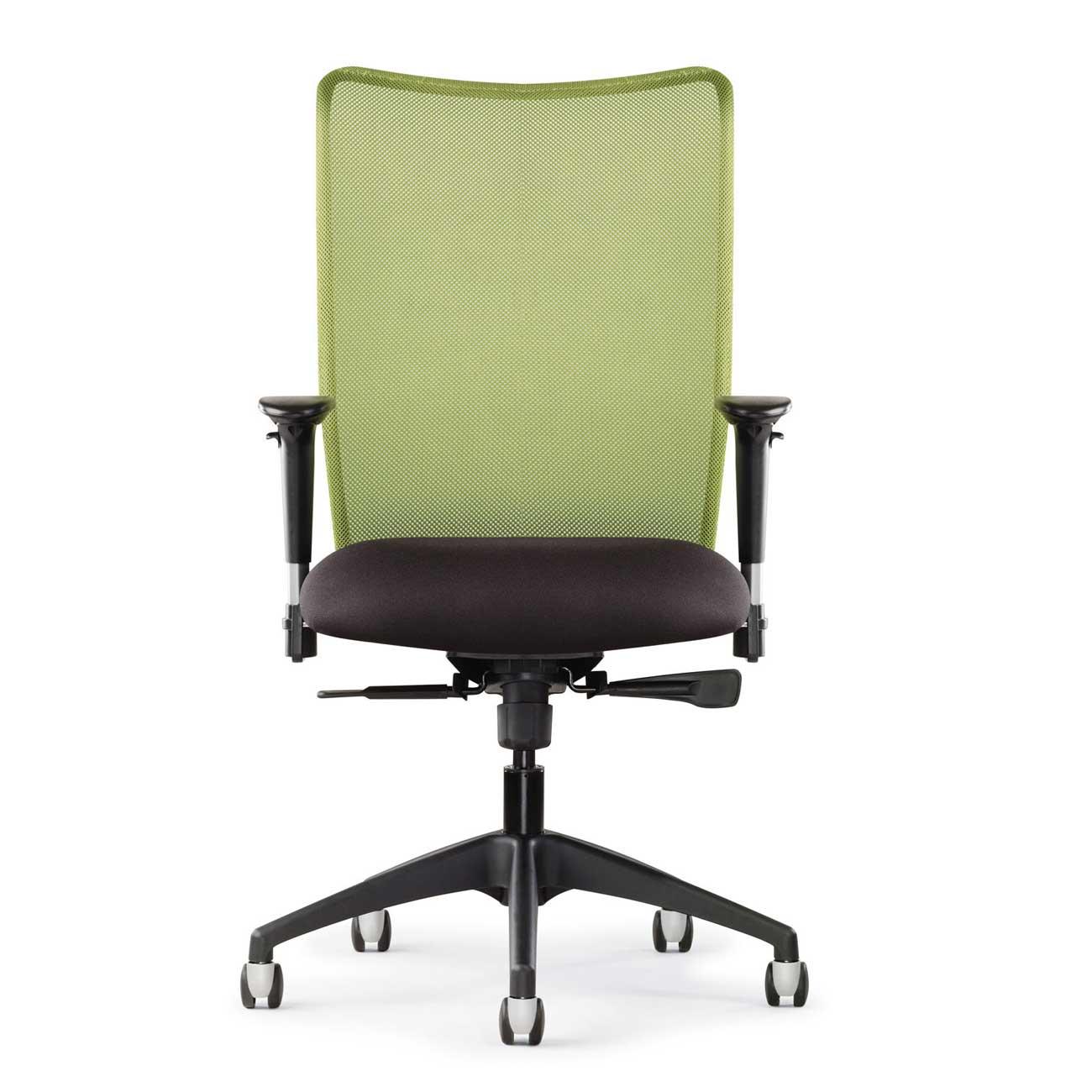 Inertia Green Highback Mesh Executive Office Chair