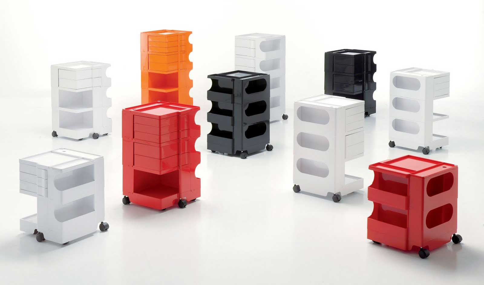 Italian contemporary office furniture organizer collections