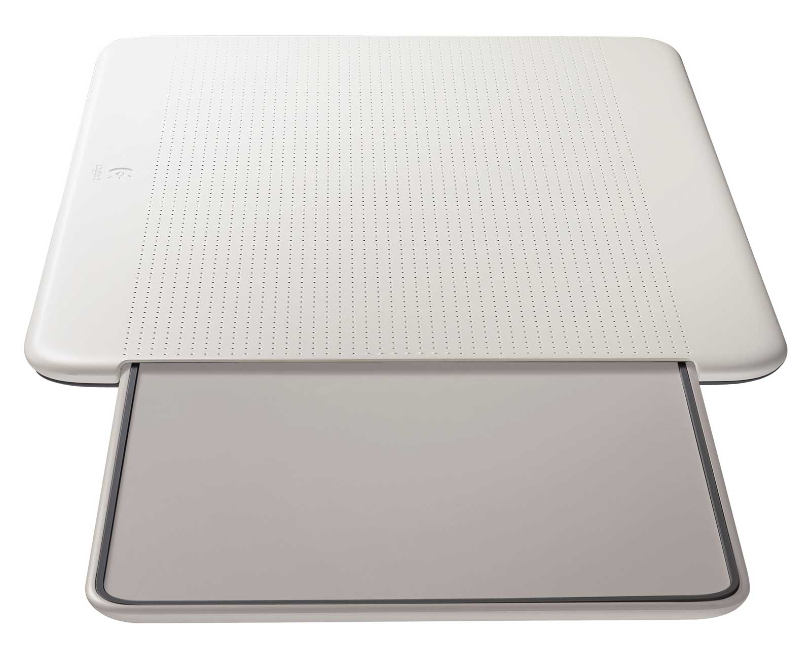 Logitech N315 Portable White Lapdesk with Cooling Pad