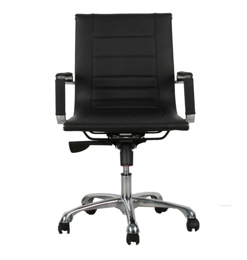 Manhattan Black Small Office Chair
