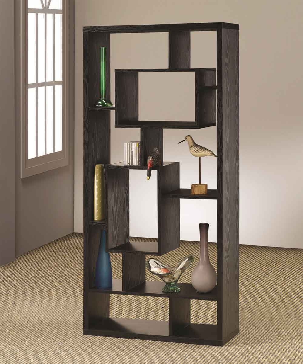 Black Wooden Bookcase ~ Los angeles bookcases at low prices