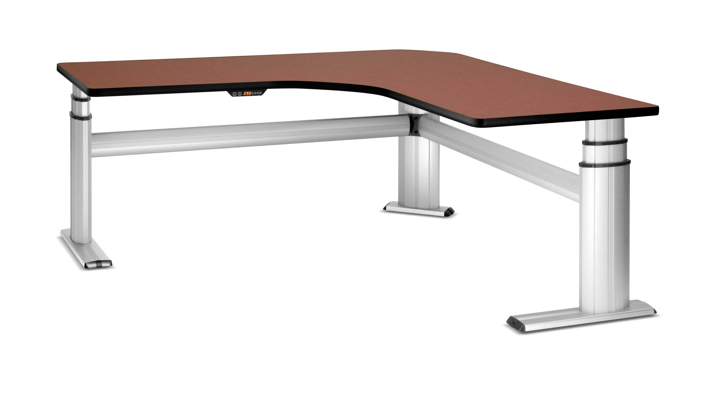 Desk l shaped office furniture - Corner office desk ...