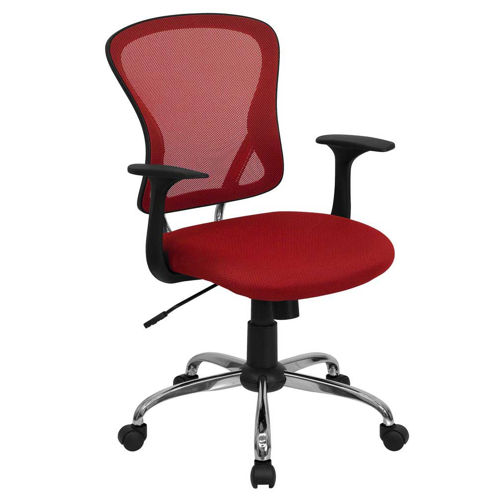 Red Office Chairs as Stunning Furnishing | Office Furniture