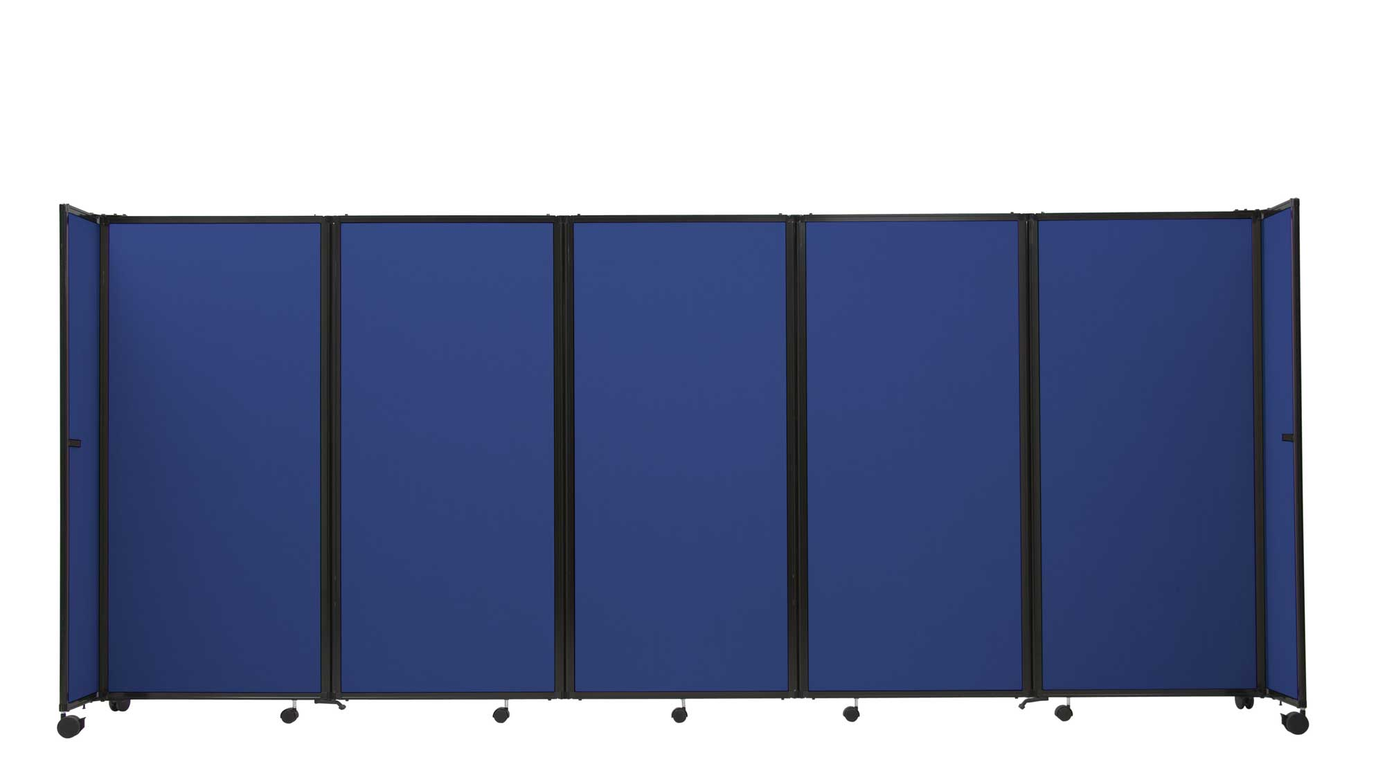royal blue 7 panels used room dividers
