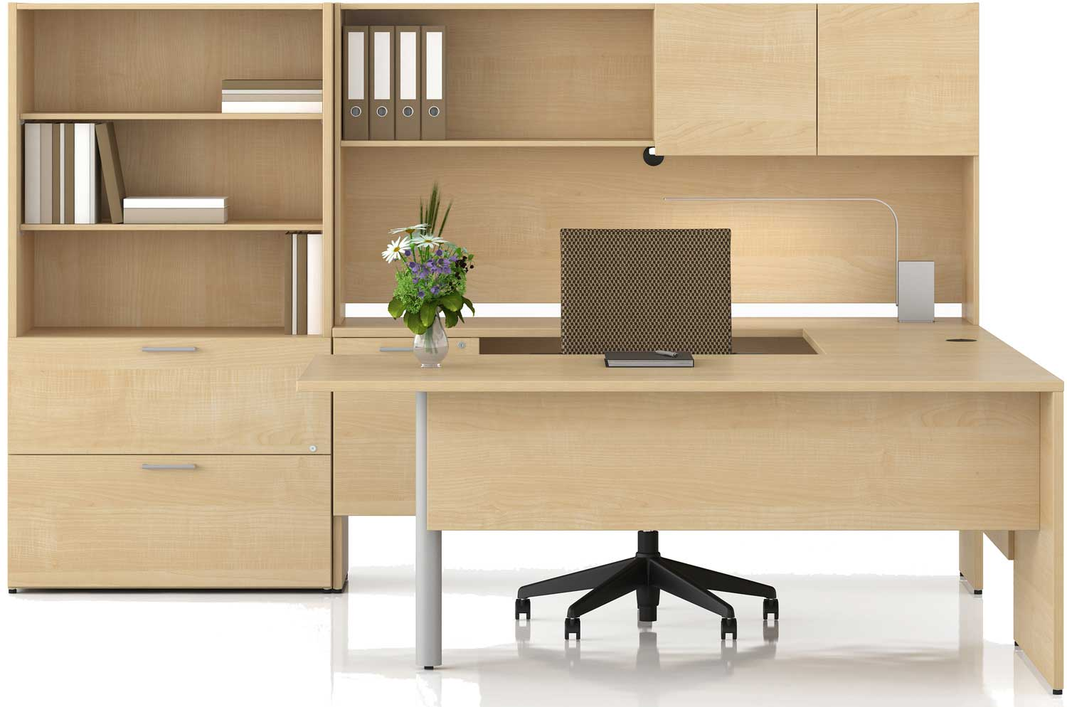 Solid Wood Cleveland Office Furniture Sets