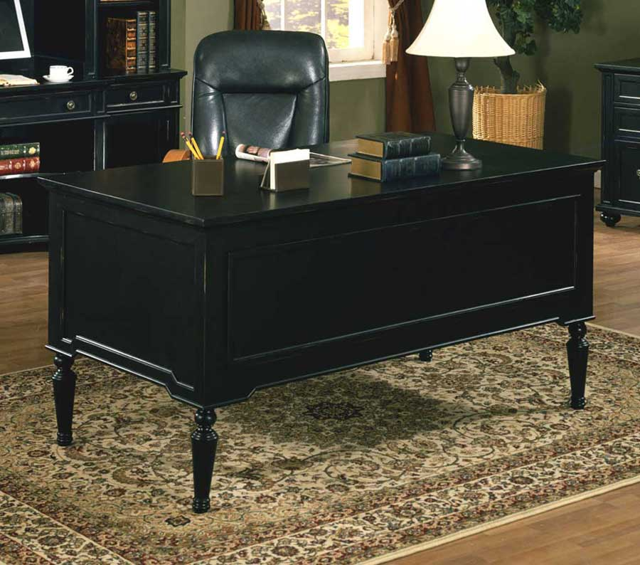 Black desk collections office furniture - Cheap black desks ...
