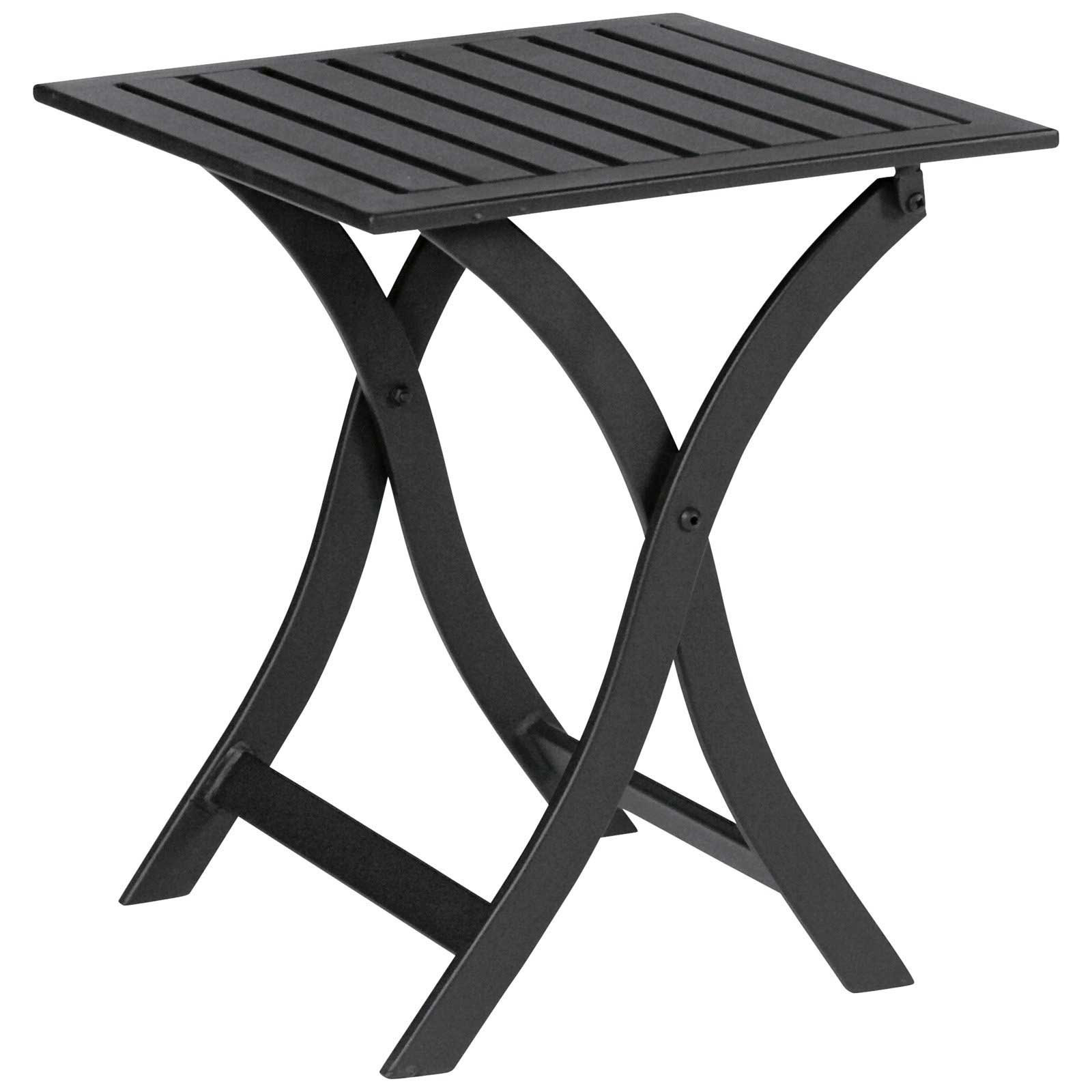 Stylish Woodard Avery Folding Side Table
