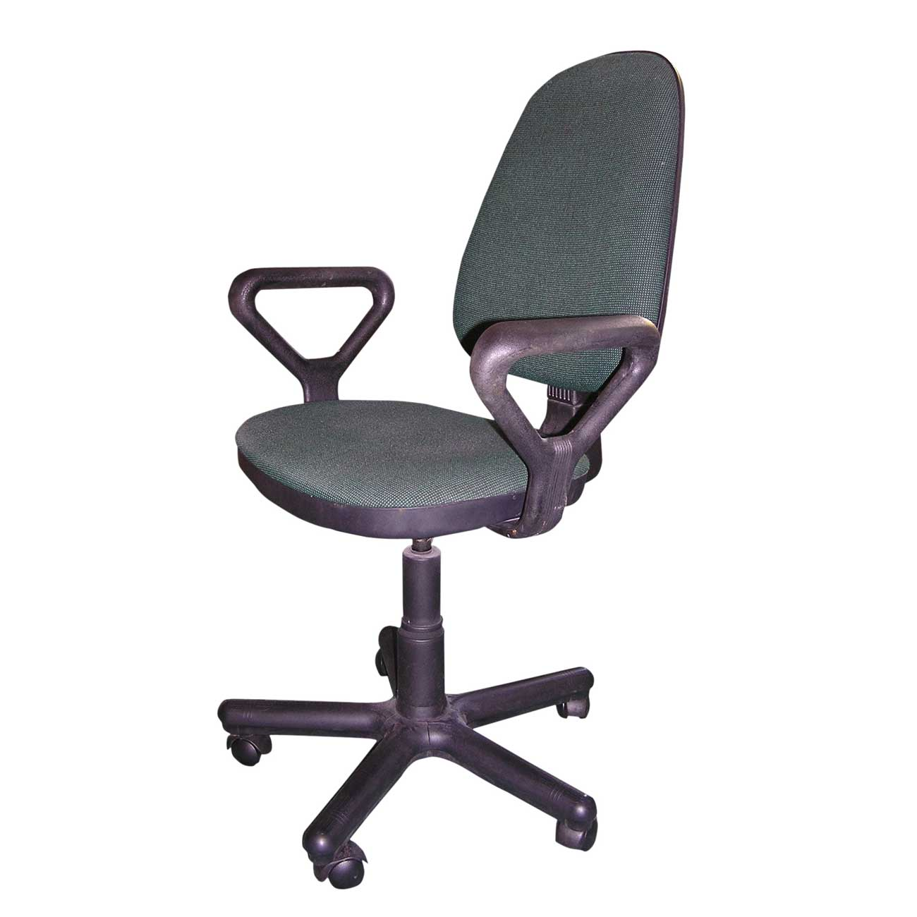 Used small seat office chair with arms