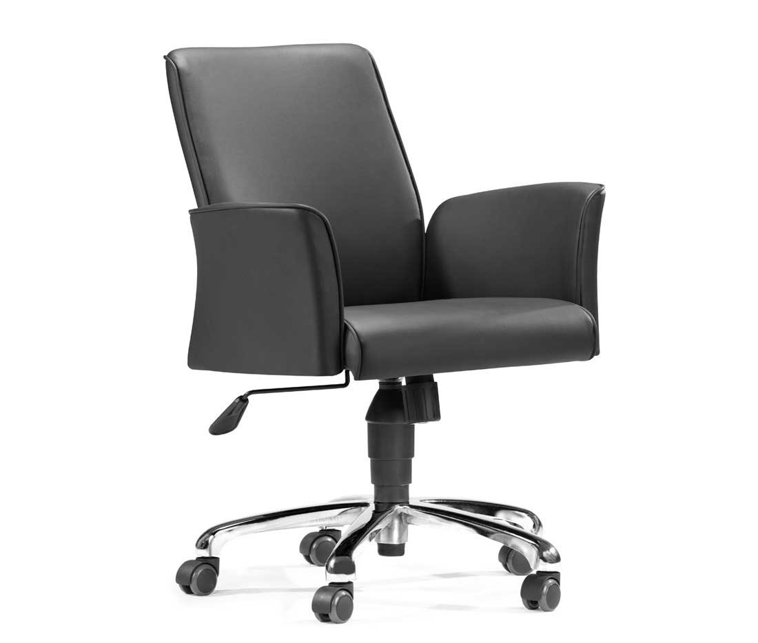 Zuo Modern Stylish Office Chair with Adjustable Height