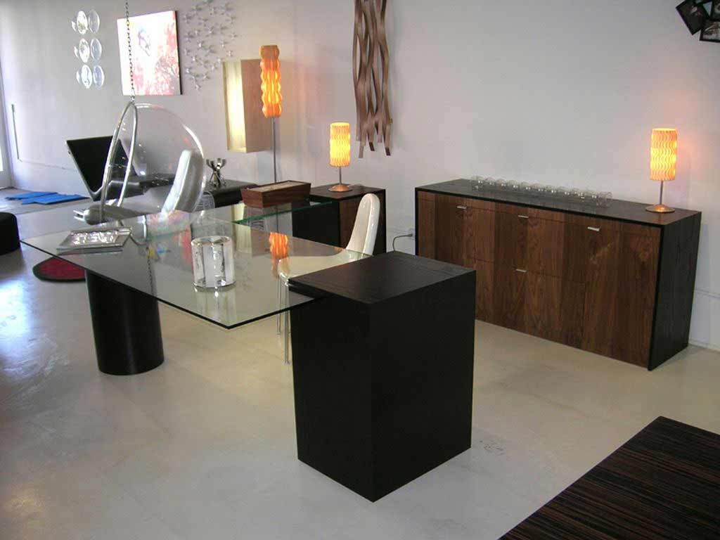 contemporary home office furniture style