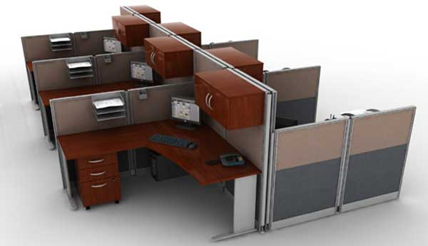 modern mounted office cubicle panels systems