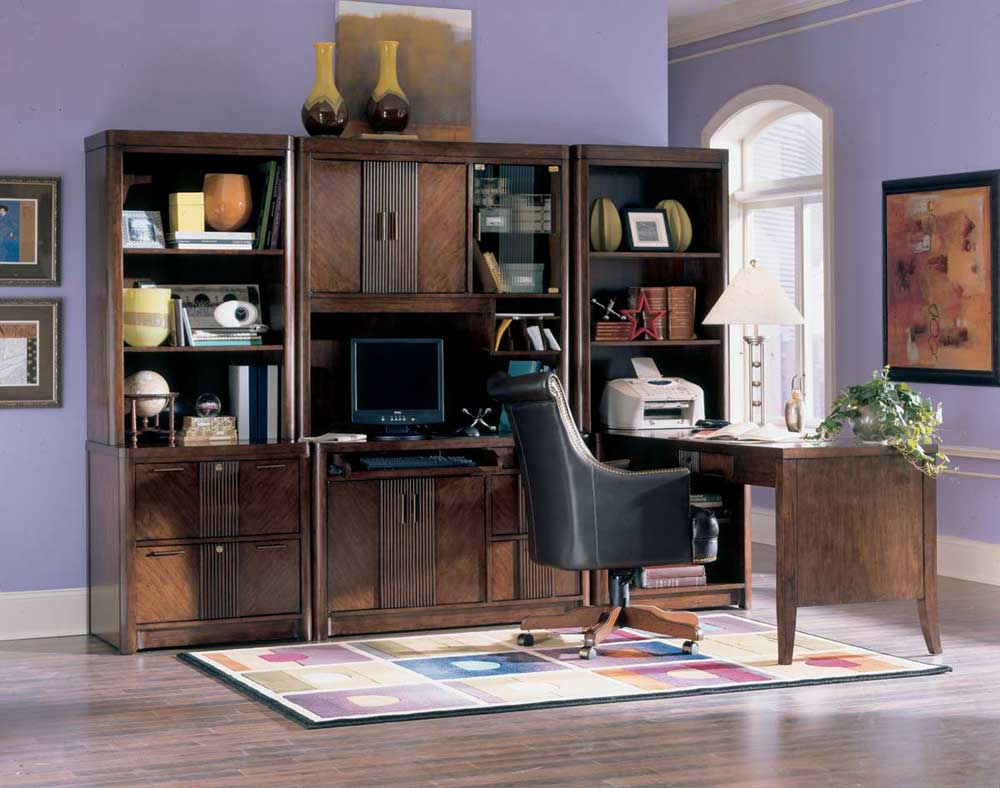 Traditional home office furniture benefits for Home office furniture images