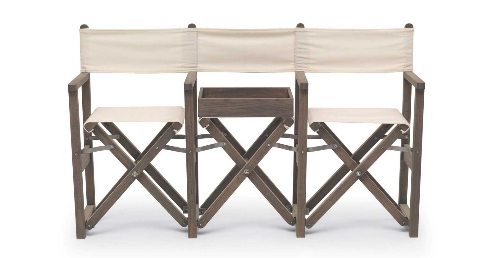 Accordian Cheap Folding Directors Chair and Bench