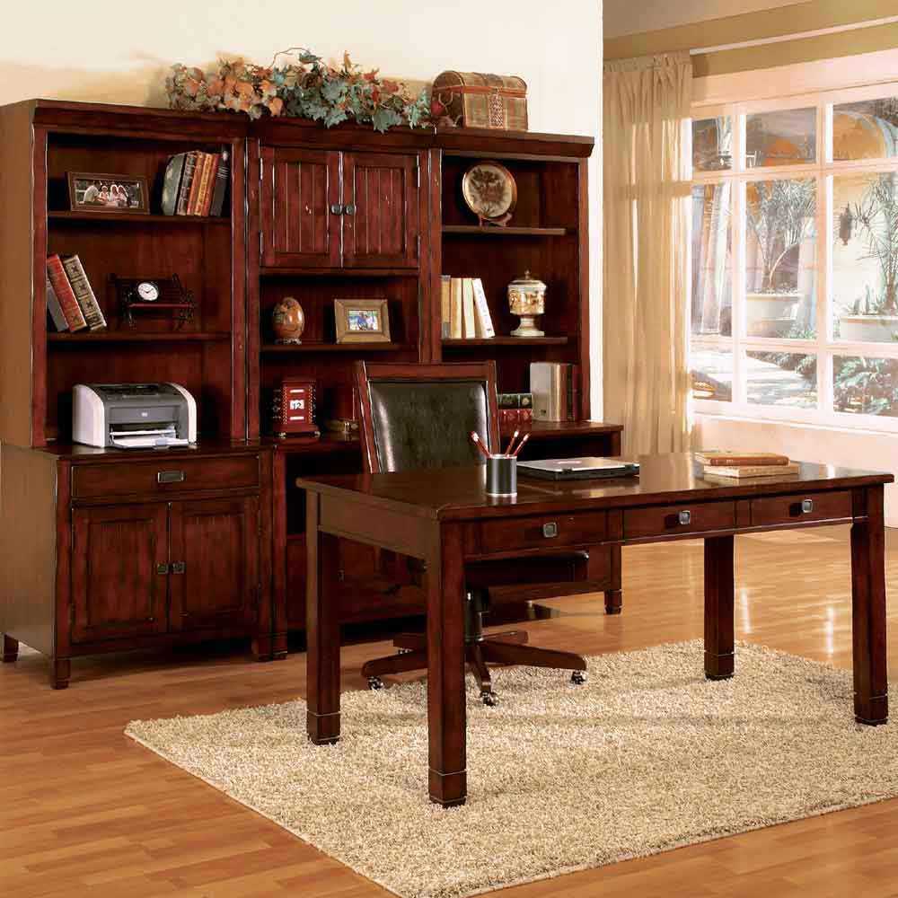 Artisan Oak Modular Computer Furniture Direct Collection