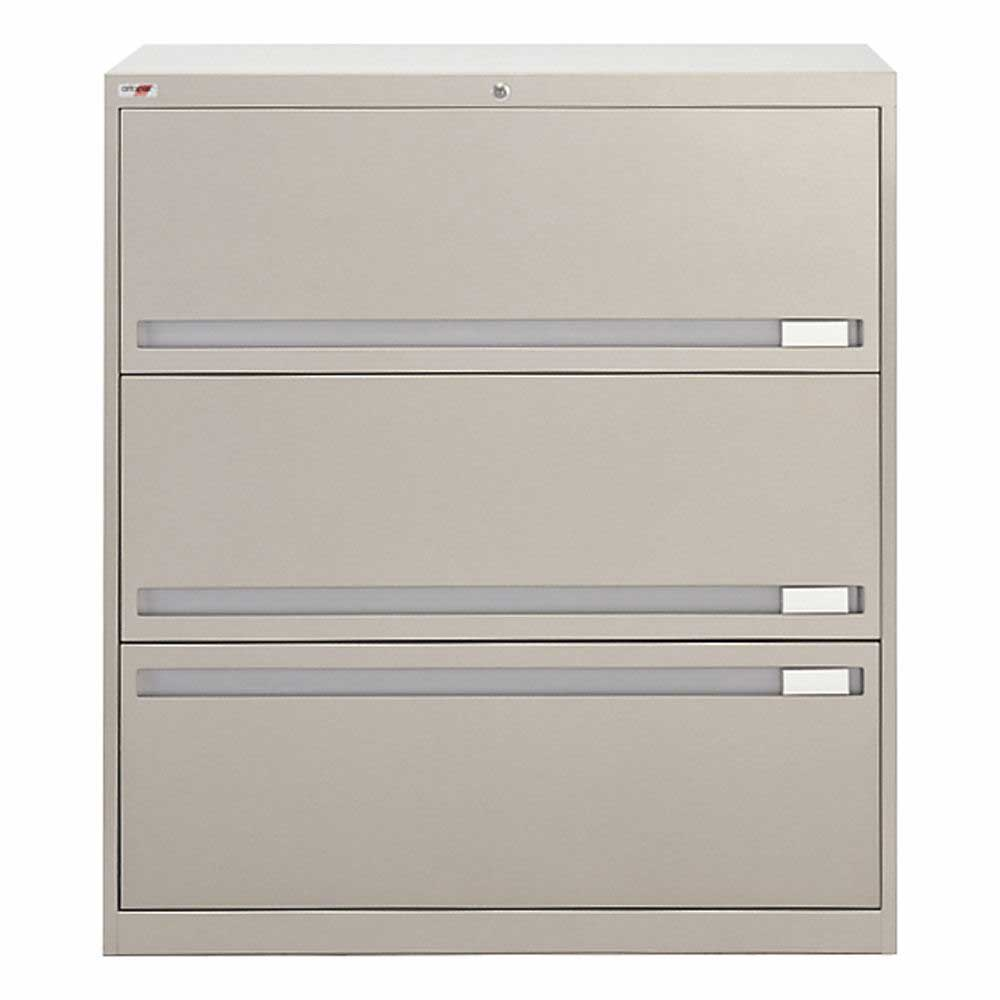 Artopex 3 drawers lateral files cabinets with lock