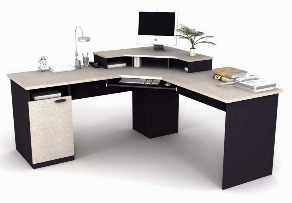 Office ikea office furniture for Modern white office